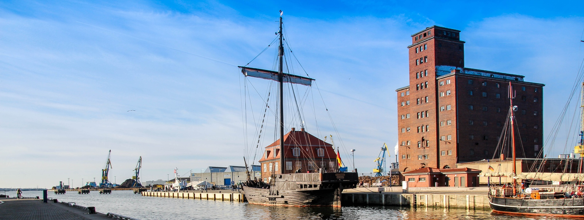 port of Wismar by Dine1980