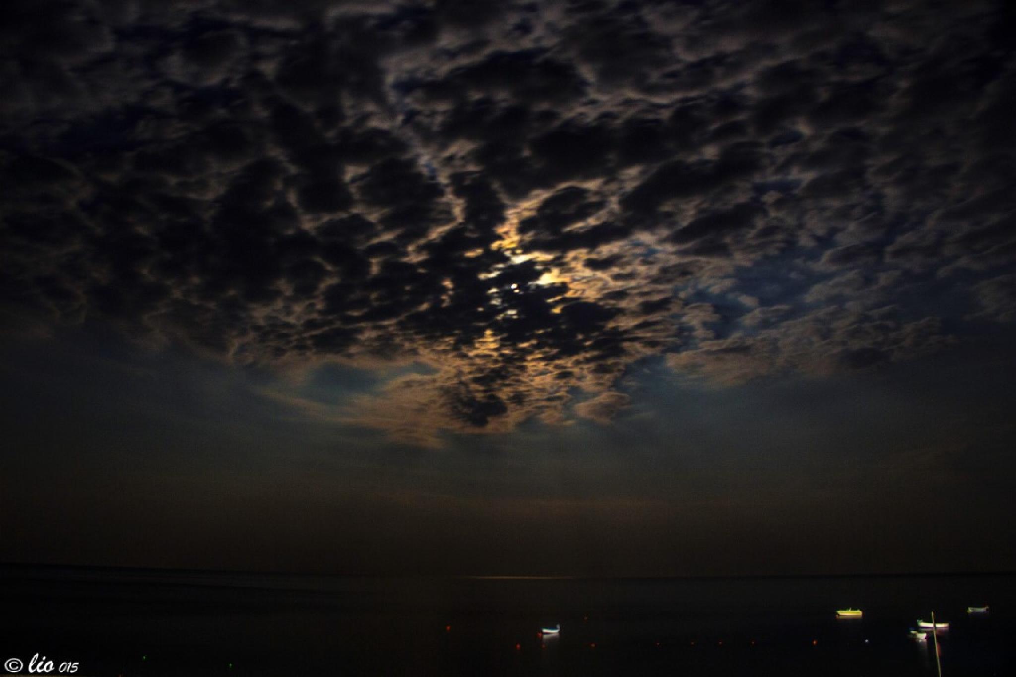 ...anche le nuvole siciliane sono fascinose !!! by Lillo Flamingo Beach