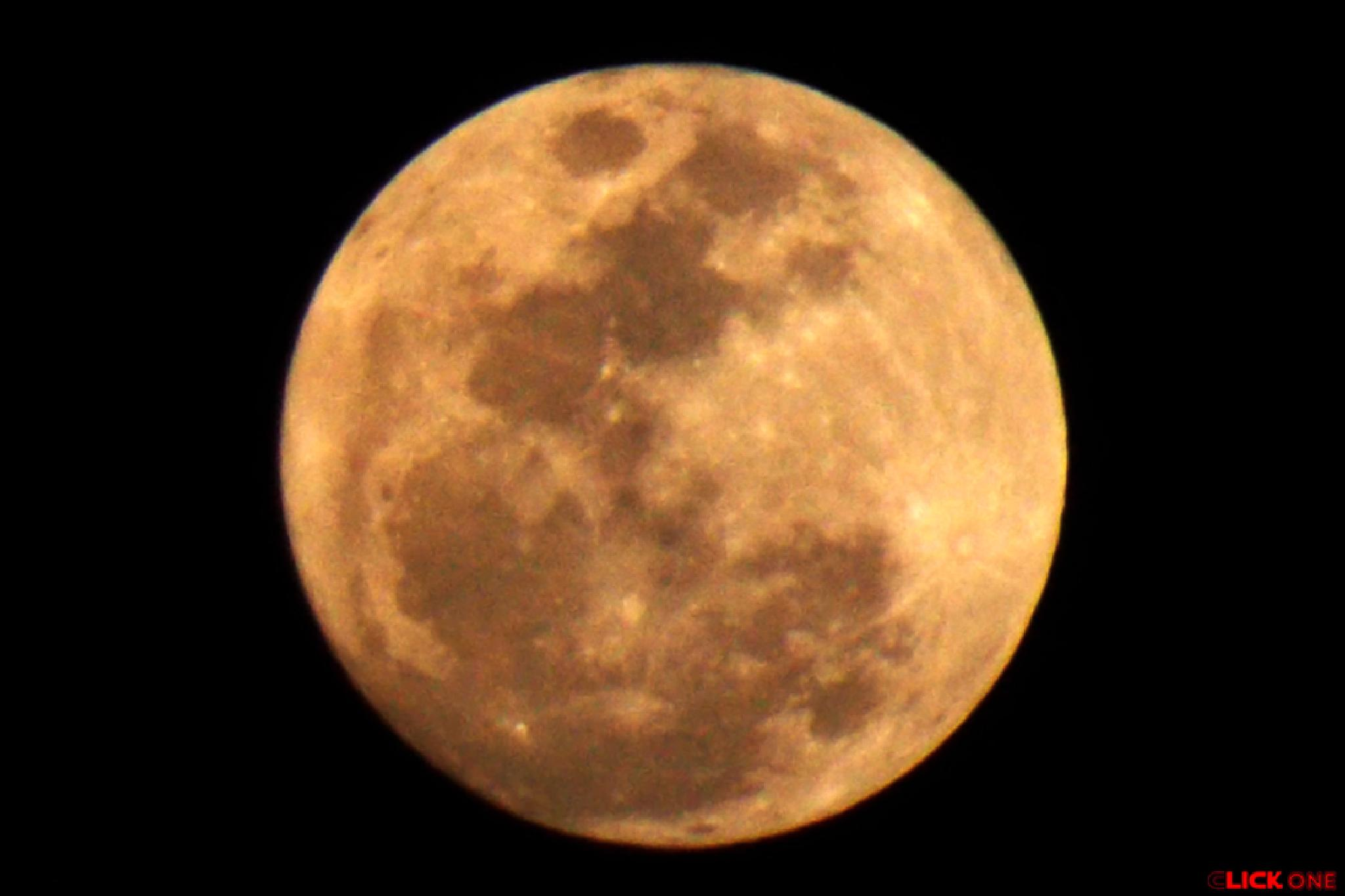 Full Moon. 6:28 PM. Feb. 03, 2015. by Ăjȫy Ðhâŕ