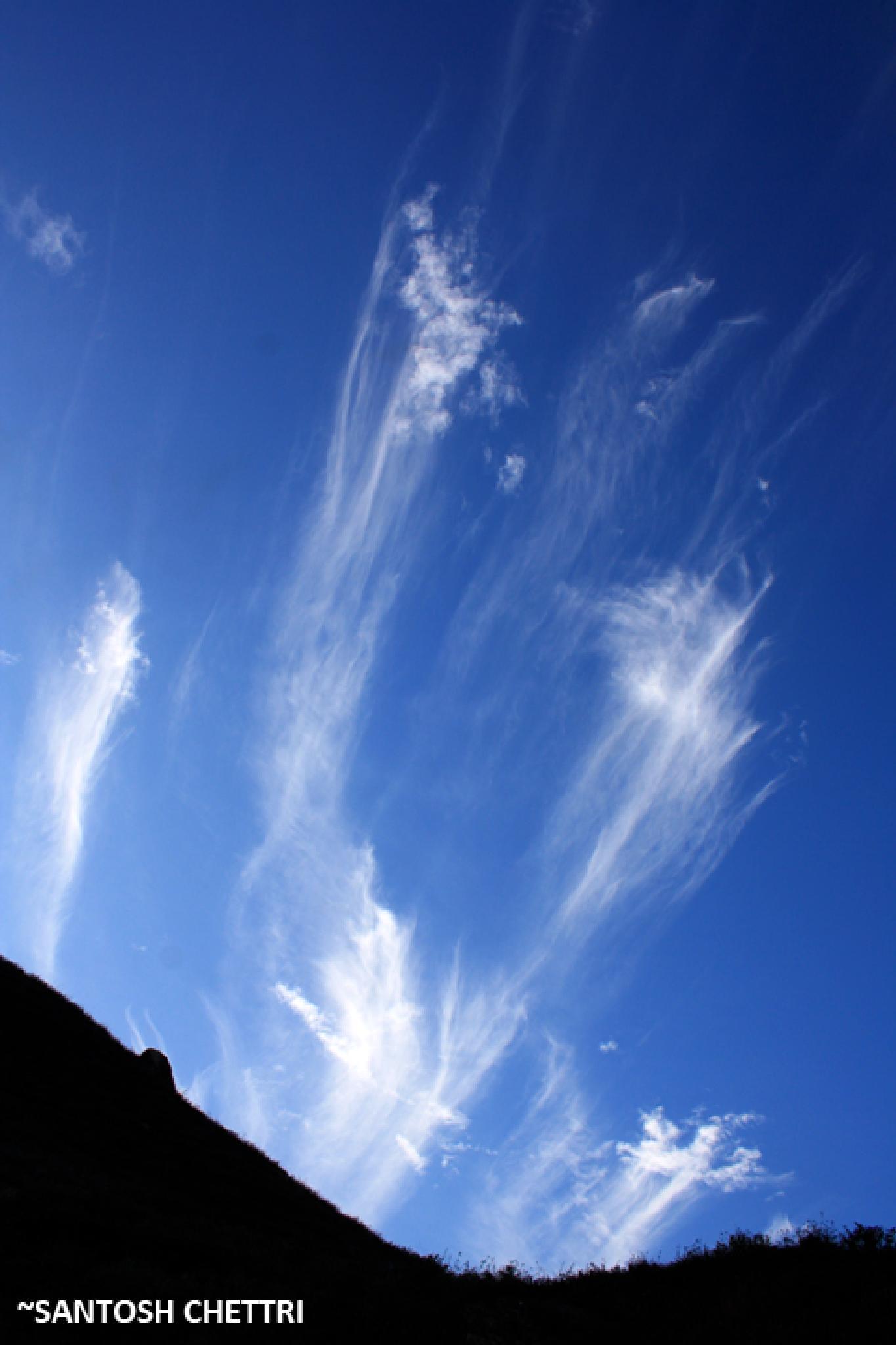 Dancing Clouds. by Santosh Chettri