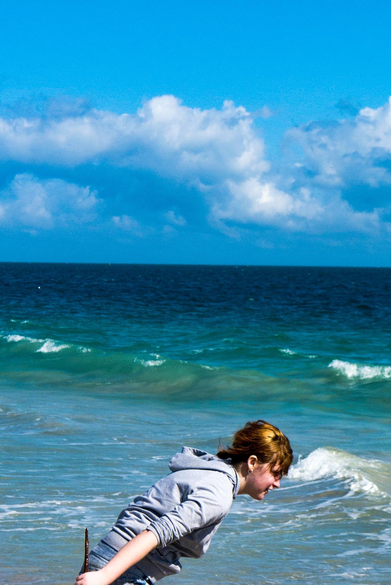 Sarah by the sea by Mordechai Ben Yosef