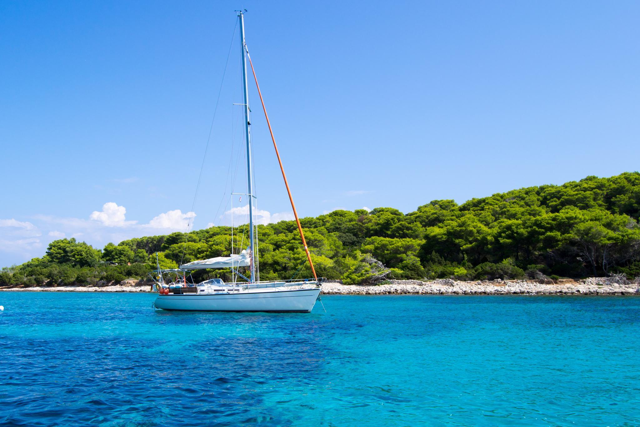 Photo in Travel #croatia #sun #island