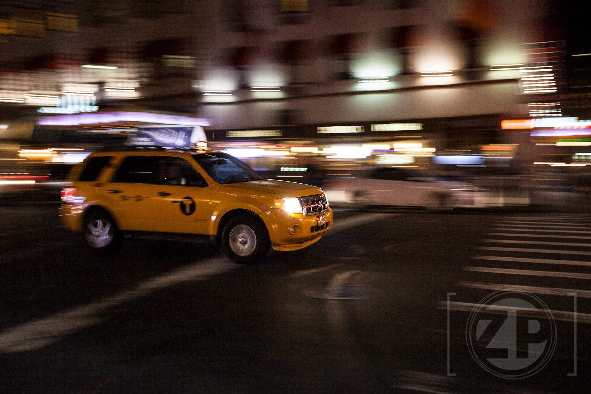 Taxi! by Patrick van Gemert