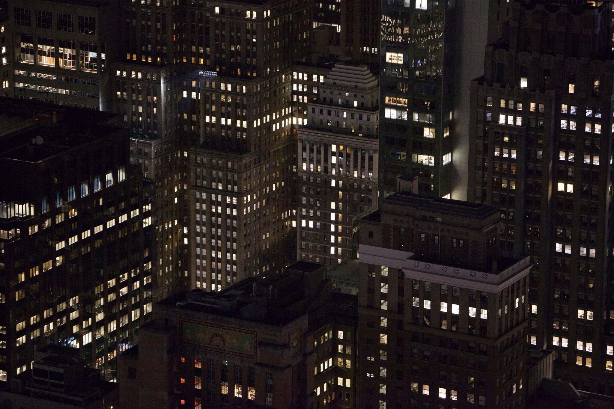 New York by night by Patrick van Gemert