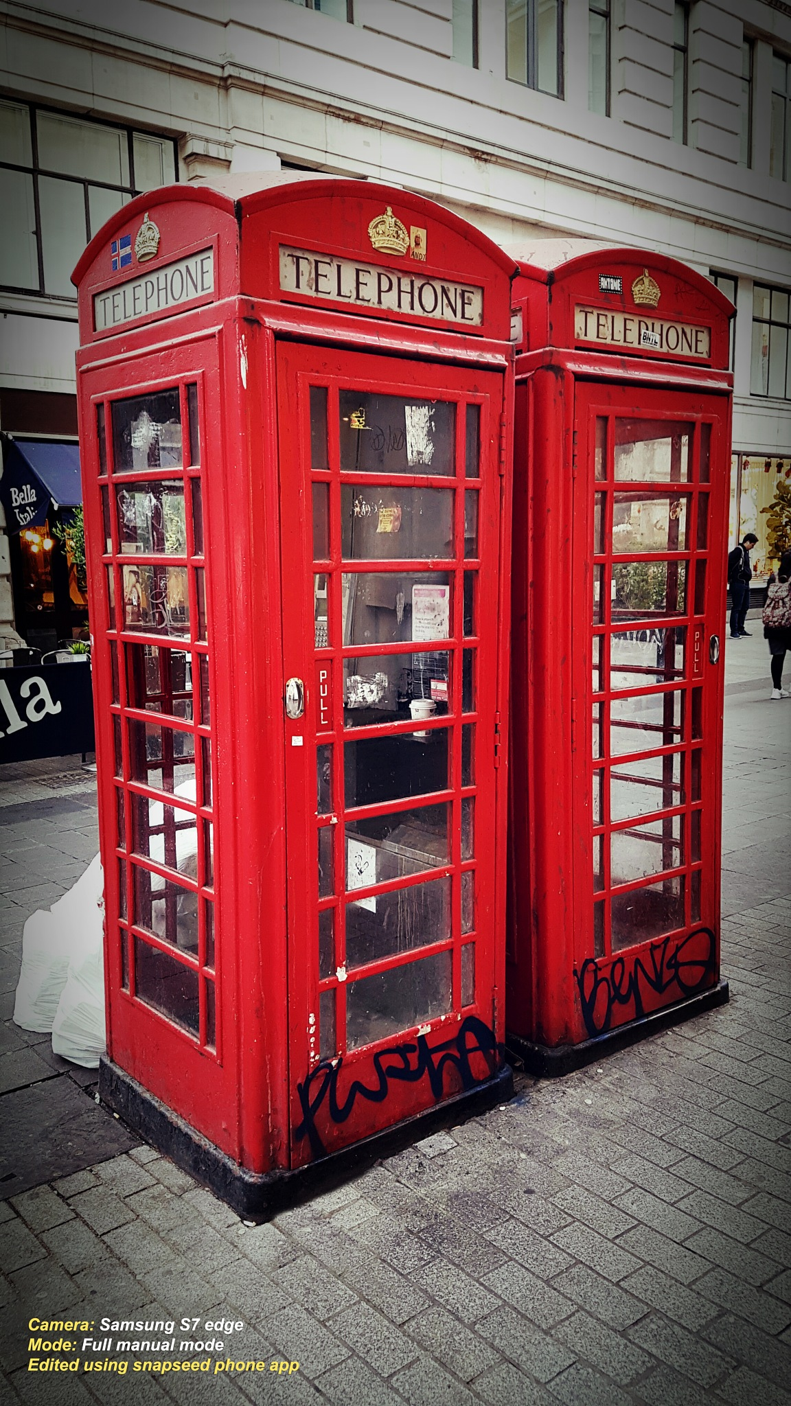 Old Telephone booth by M.Khan  م.خان
