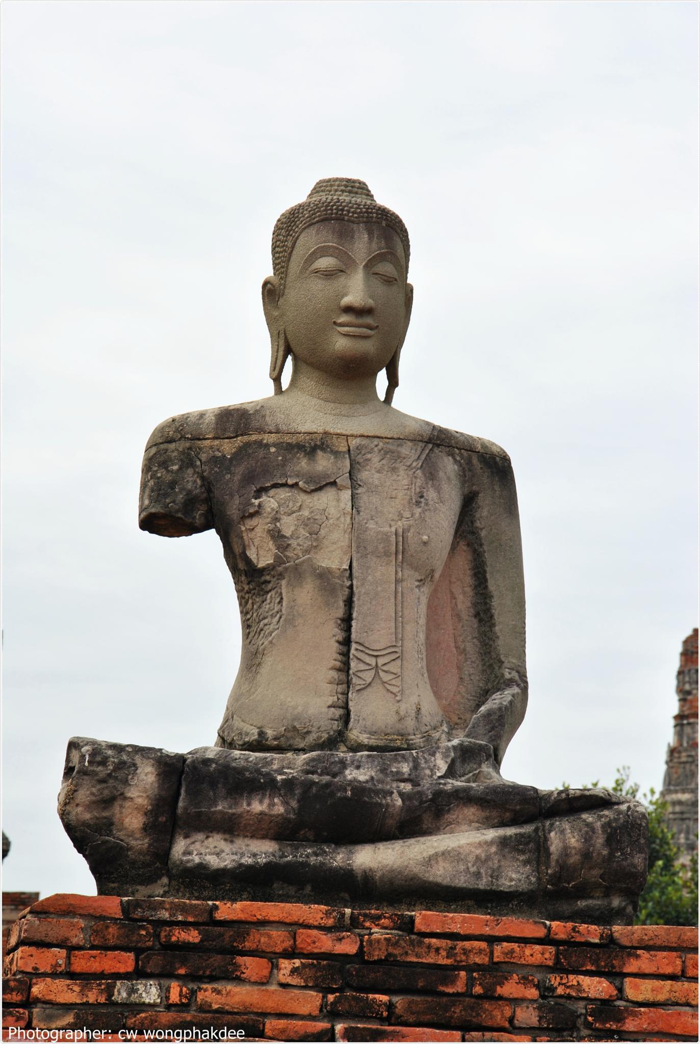 Wat Chaiwatthanaram by Wongphakdee