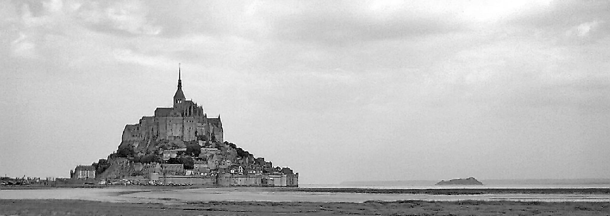 Mont St Michael. Northern France. by Malcolm White