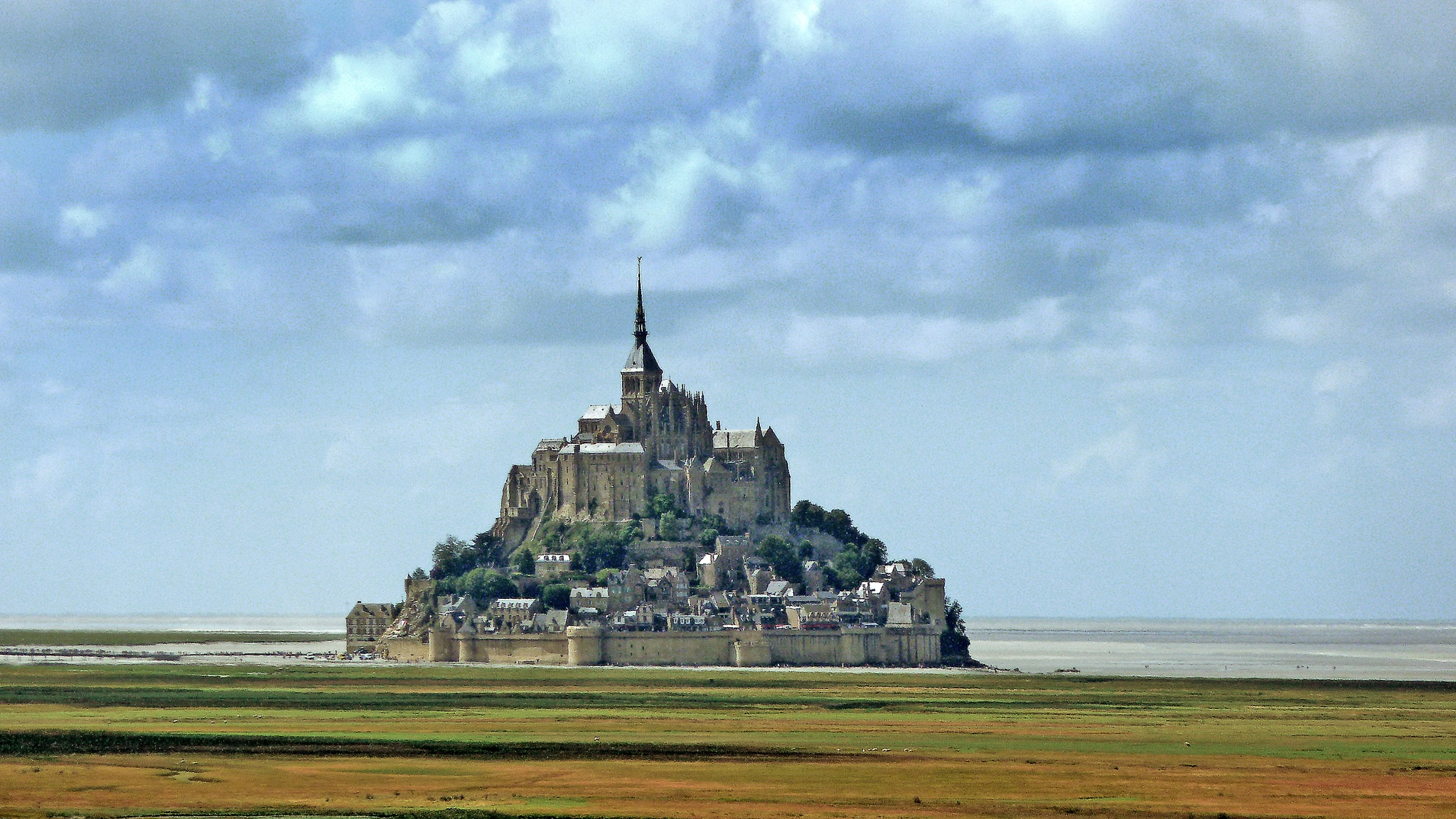 Mont St Michael. Norther France. by Malcolm White