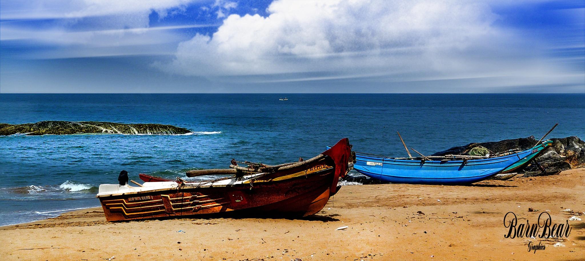 FISHING BOAT'S by BARNEYBEAR