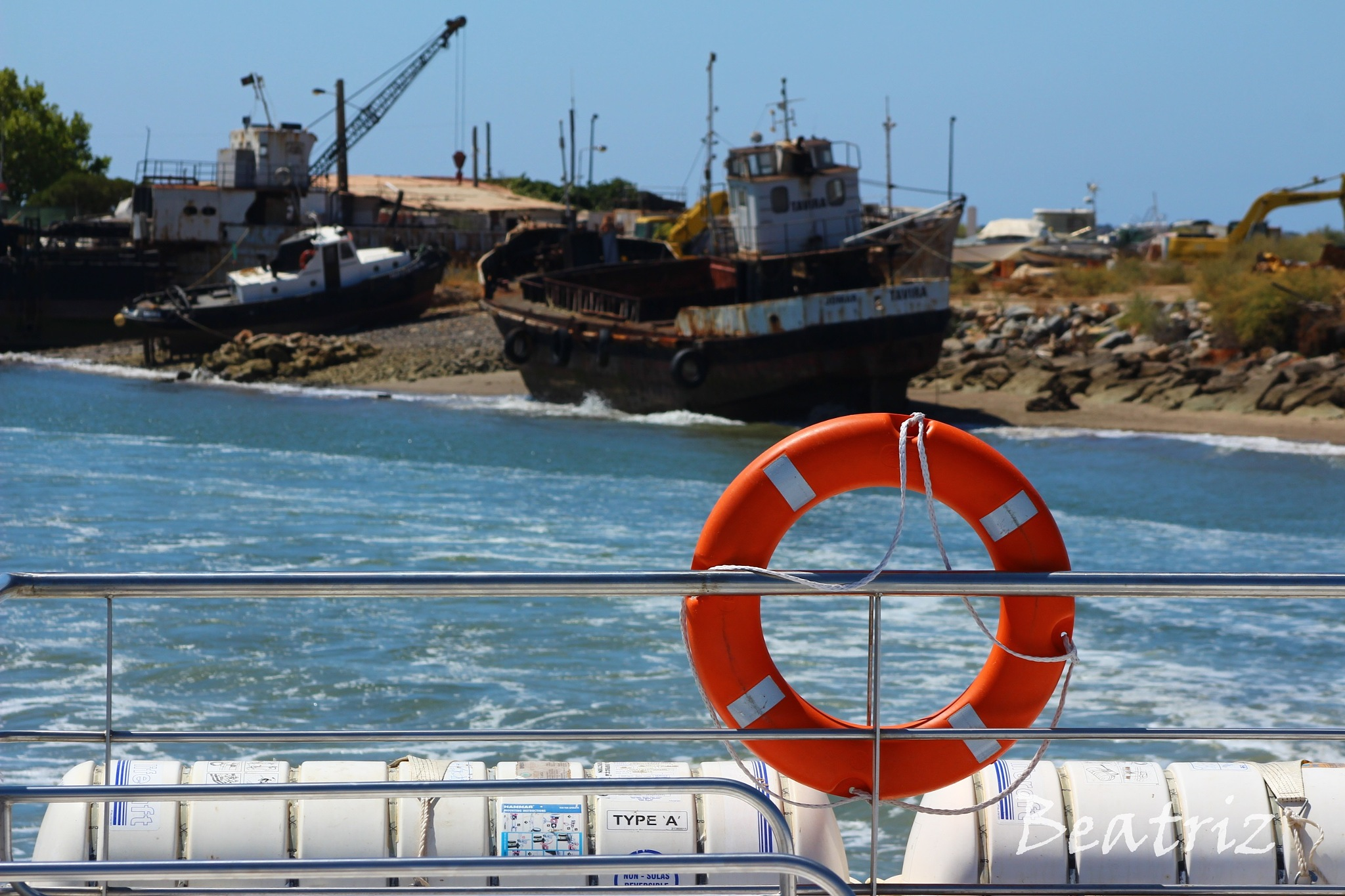 VIEW FROM A FERRY by Beatriz Rodrigues