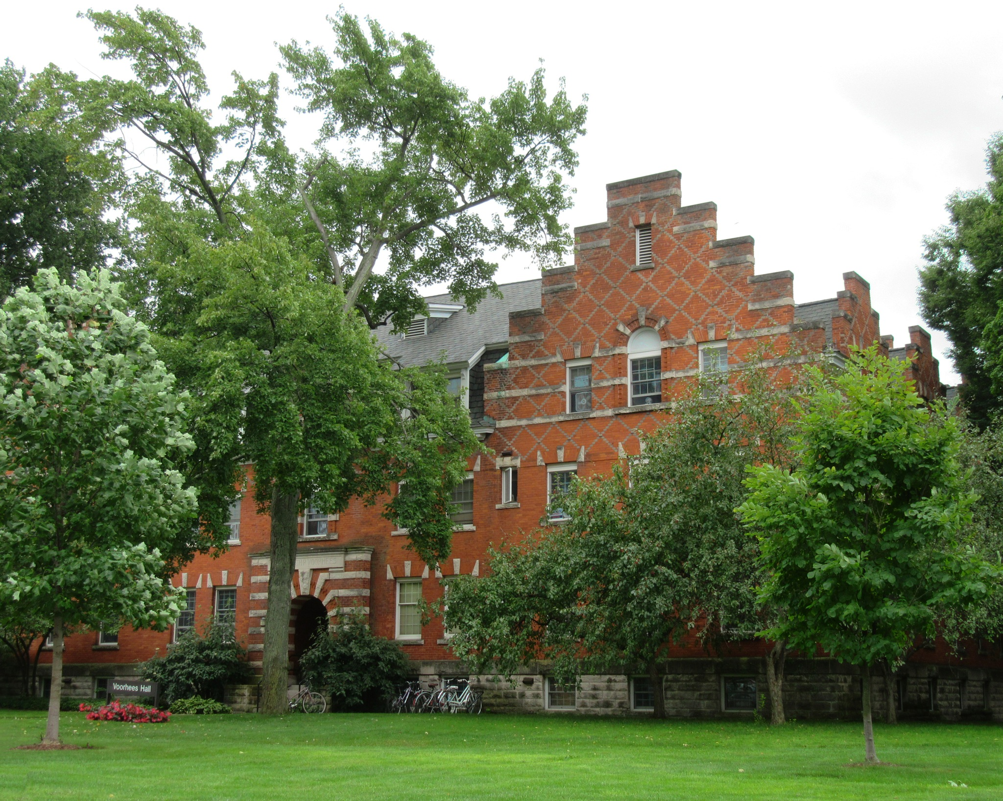 Voorhees Hall, Hope College by LizWilliamsOriginals