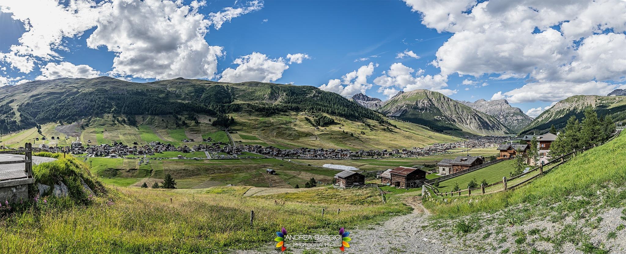 Livigno panorama by Andrea Baggio Photography