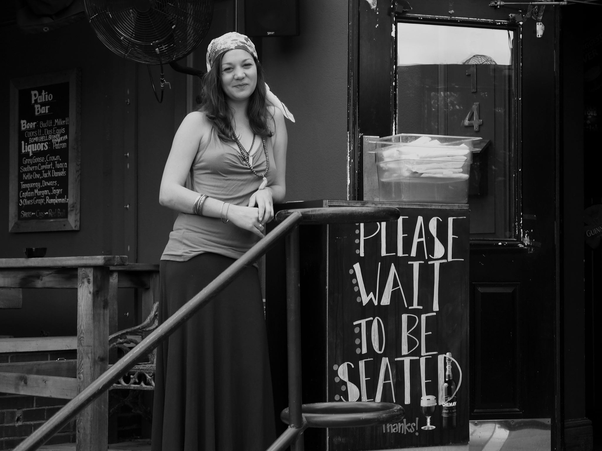 please wait to be seated by Jeff Tidwell