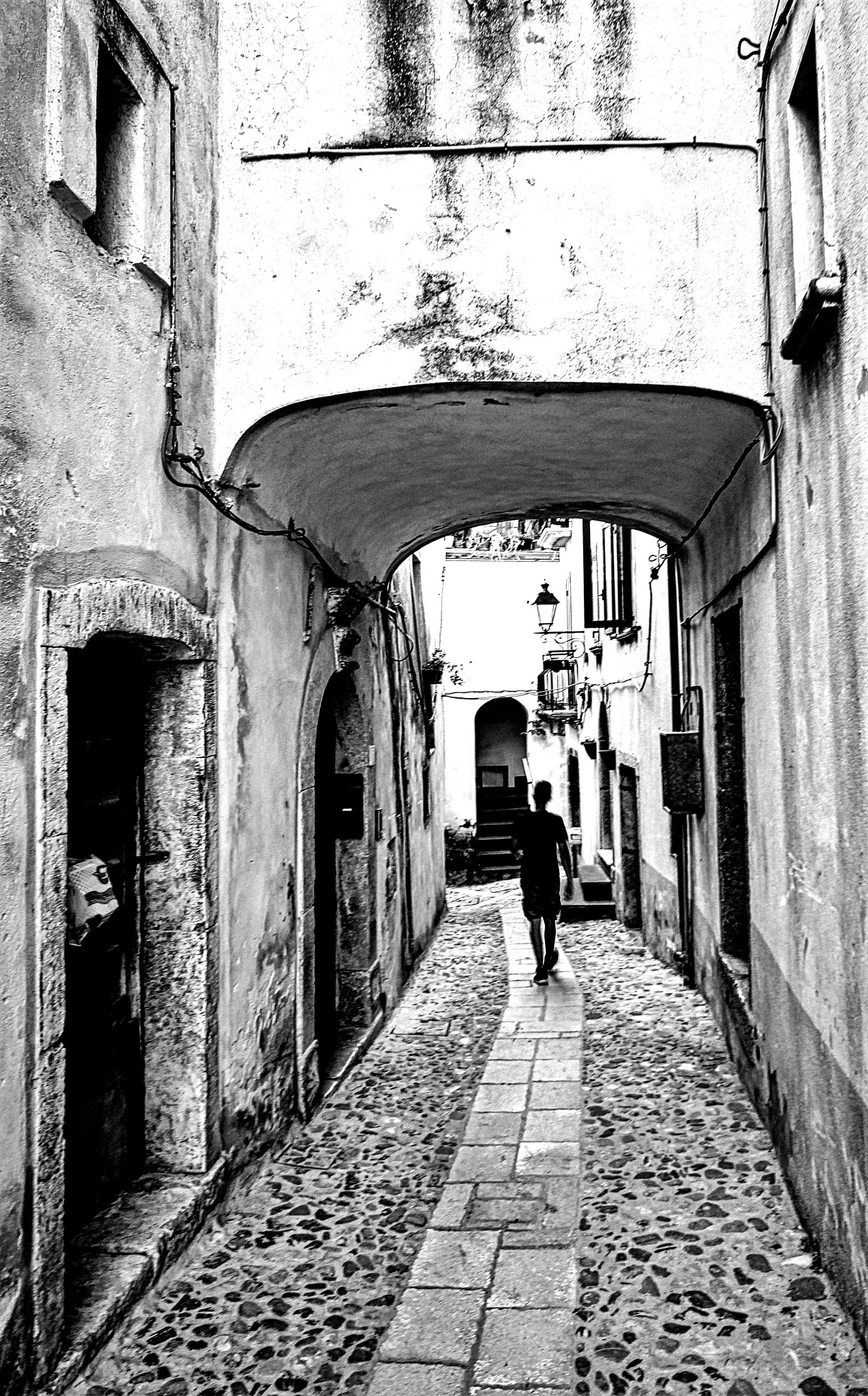 Looking for his own way. by Francesco Abate