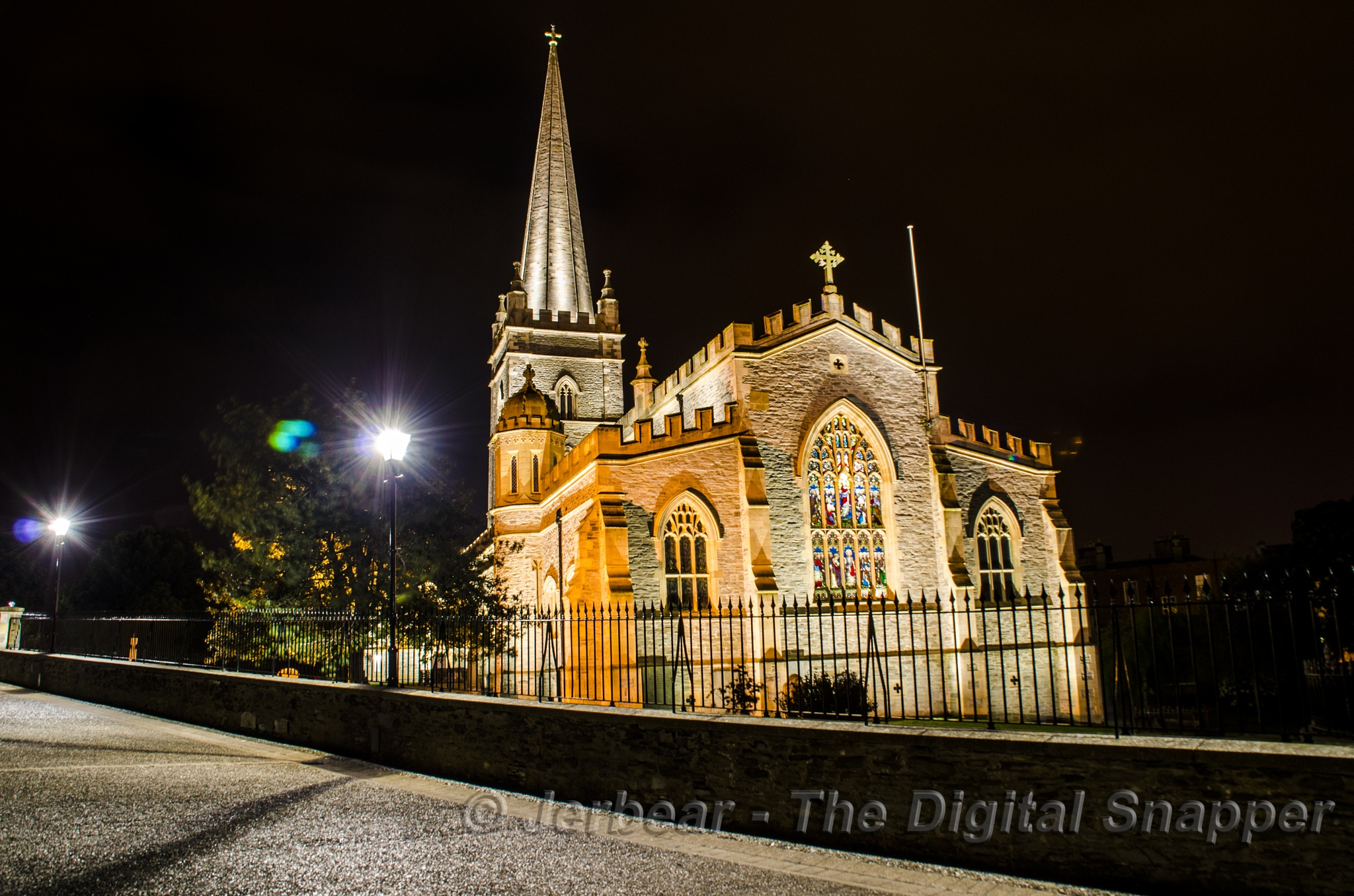 St Columb's Cathedral Derry City by Jerbear