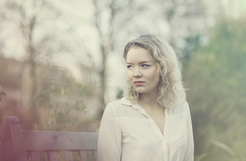 Photo in Portrait #portrait #blonde #blue eyes #blonde hair #headshot