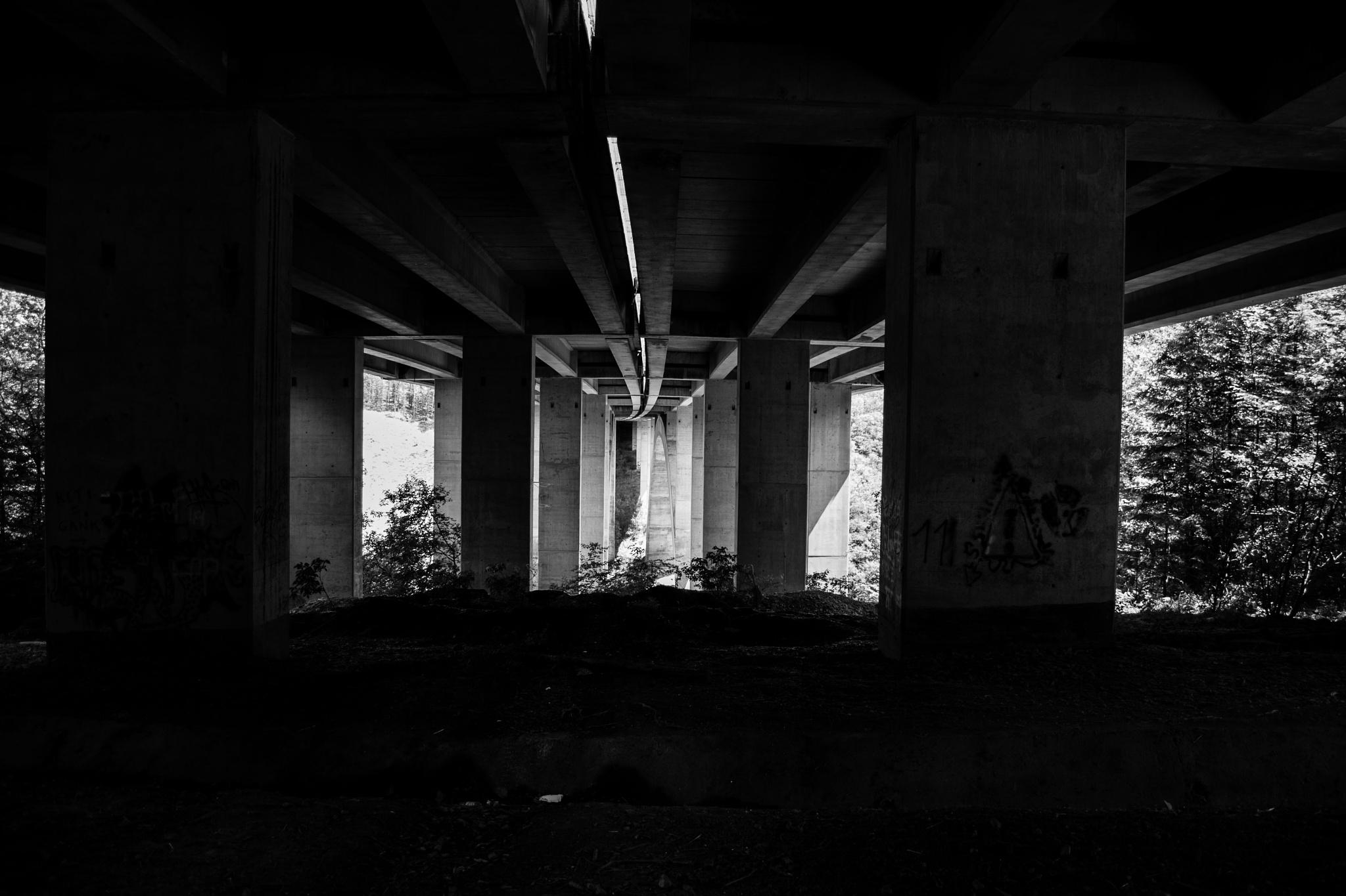 Under the bridges by Jeff Junker