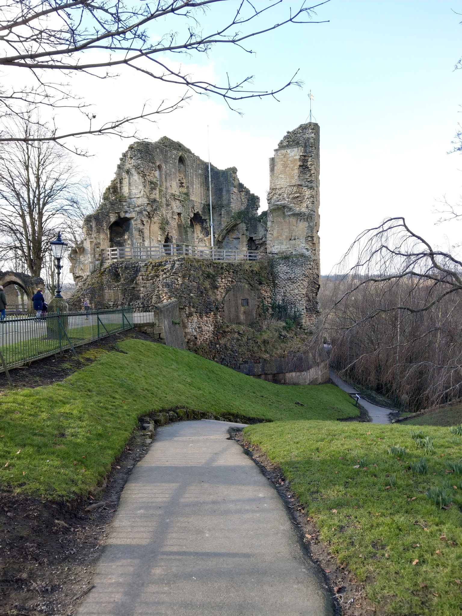 knaresborough castle by Dave Brown