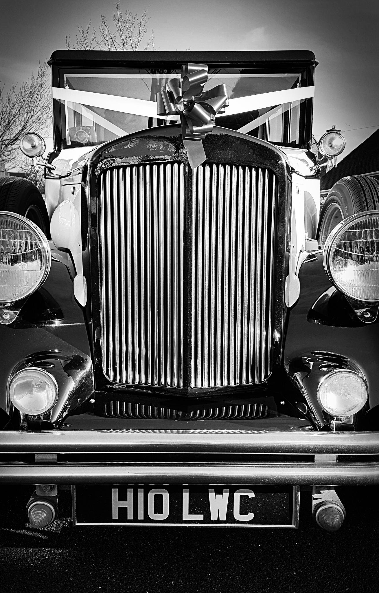 The Wedding Car by Yvonne Lewis