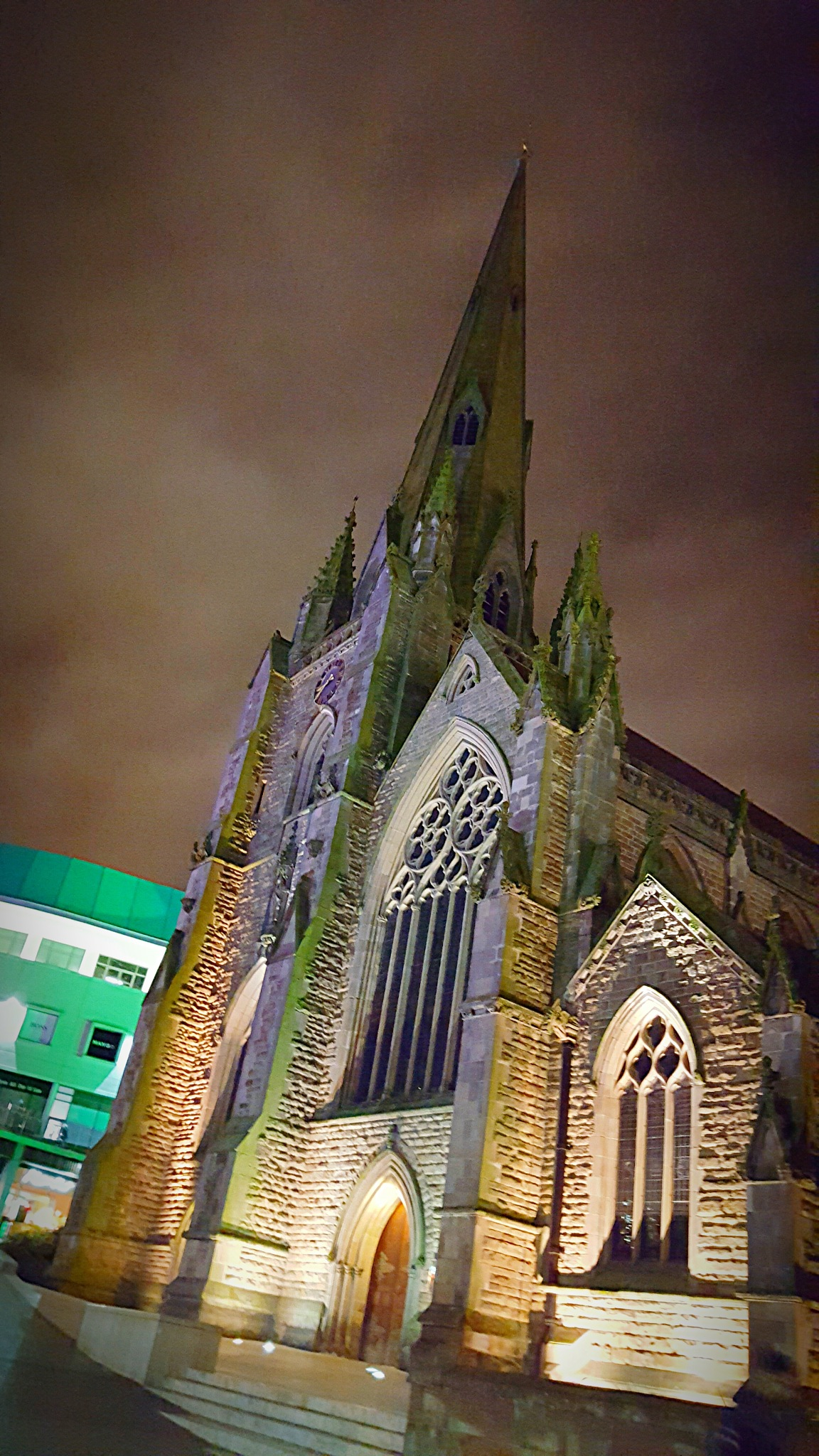 St Martins in the Bull Ring by Yvonne Lewis