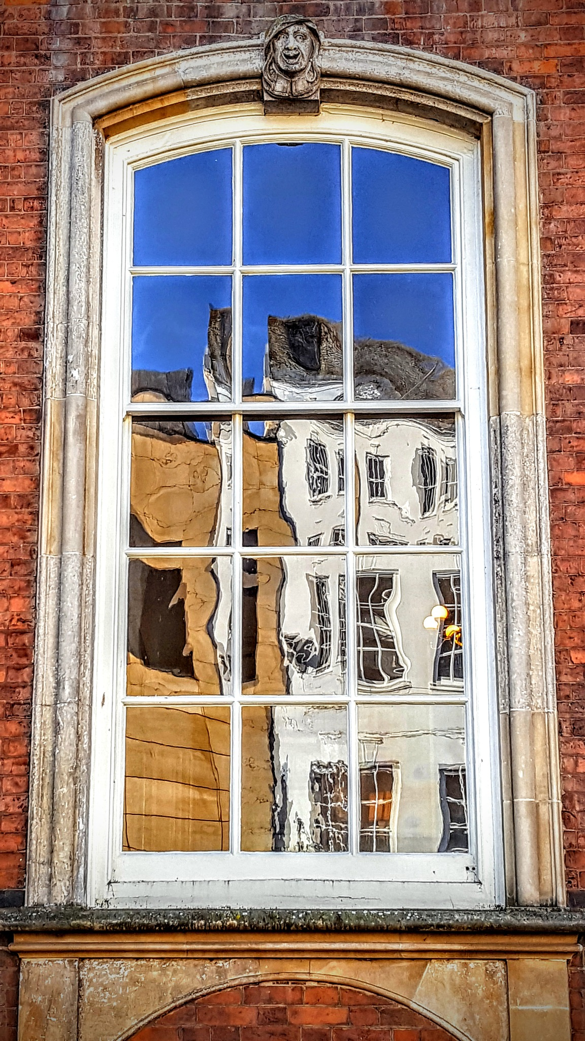 Reflective Window by Yvonne Lewis
