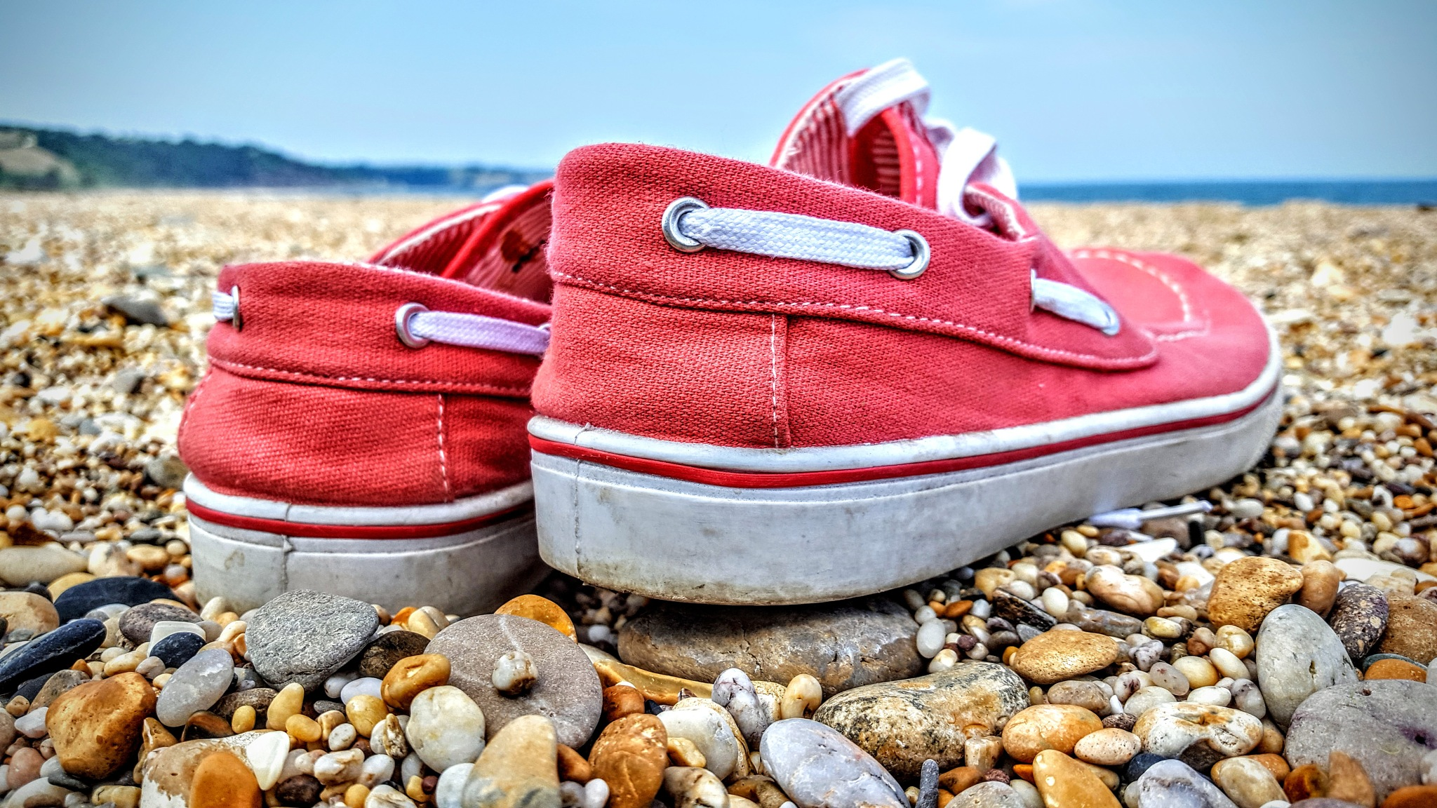 Beach Shoes by Yvonne Lewis