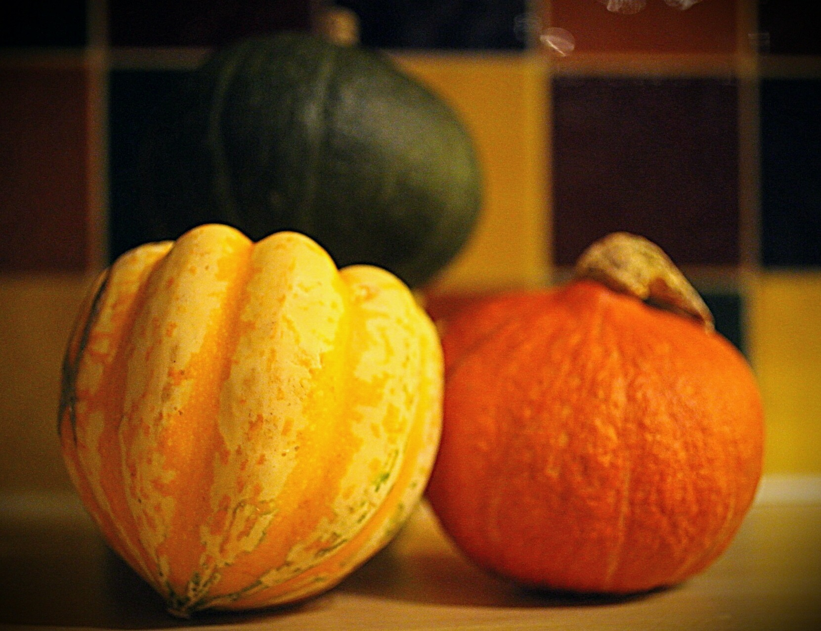 Gourds by Yvonne Lewis