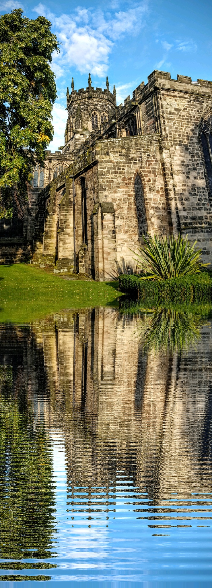 Church Reflection  by Yvonne Lewis