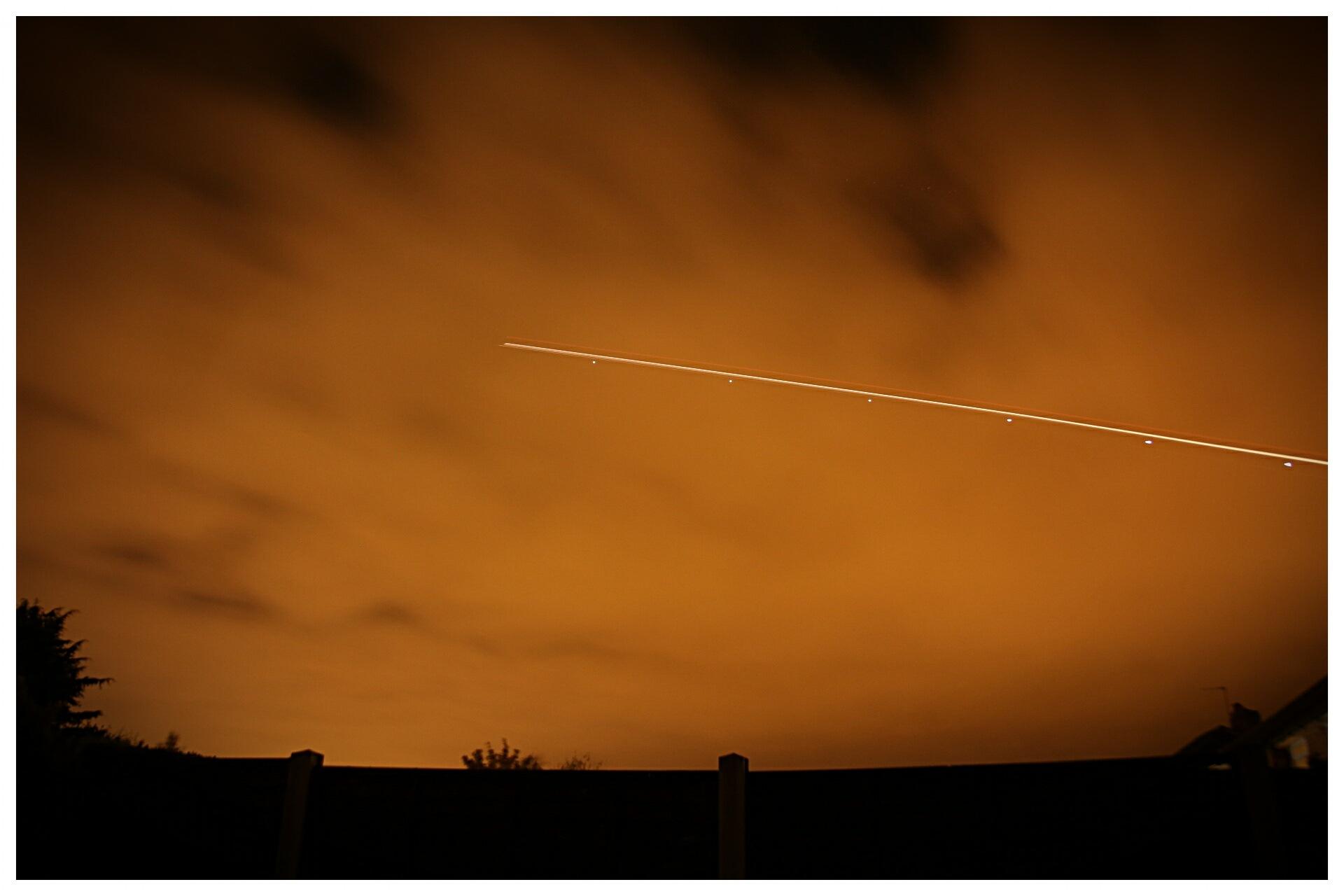 Night Flight 2 by Yvonne Lewis