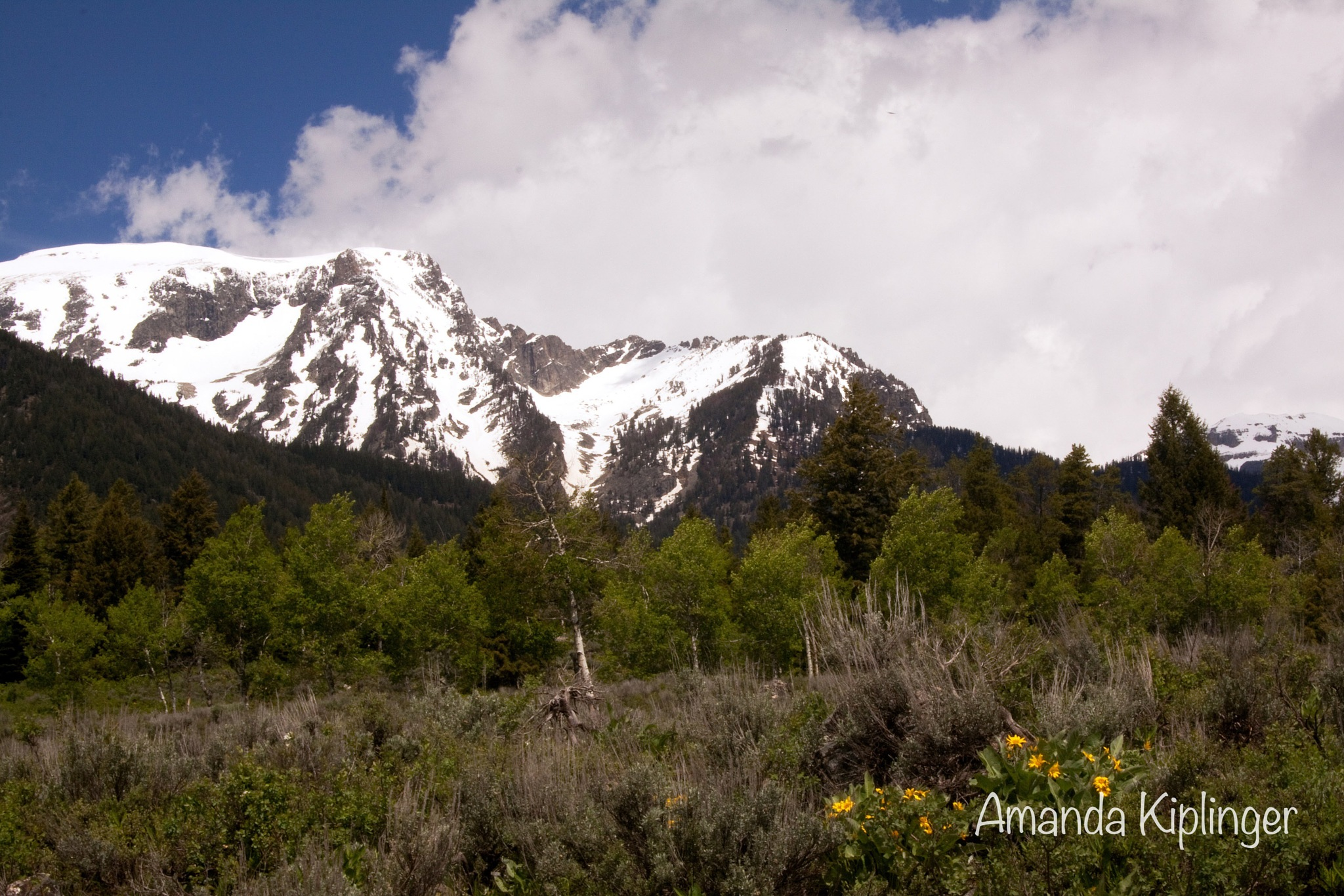 Mountains and Sky by Amanda Kiplinger
