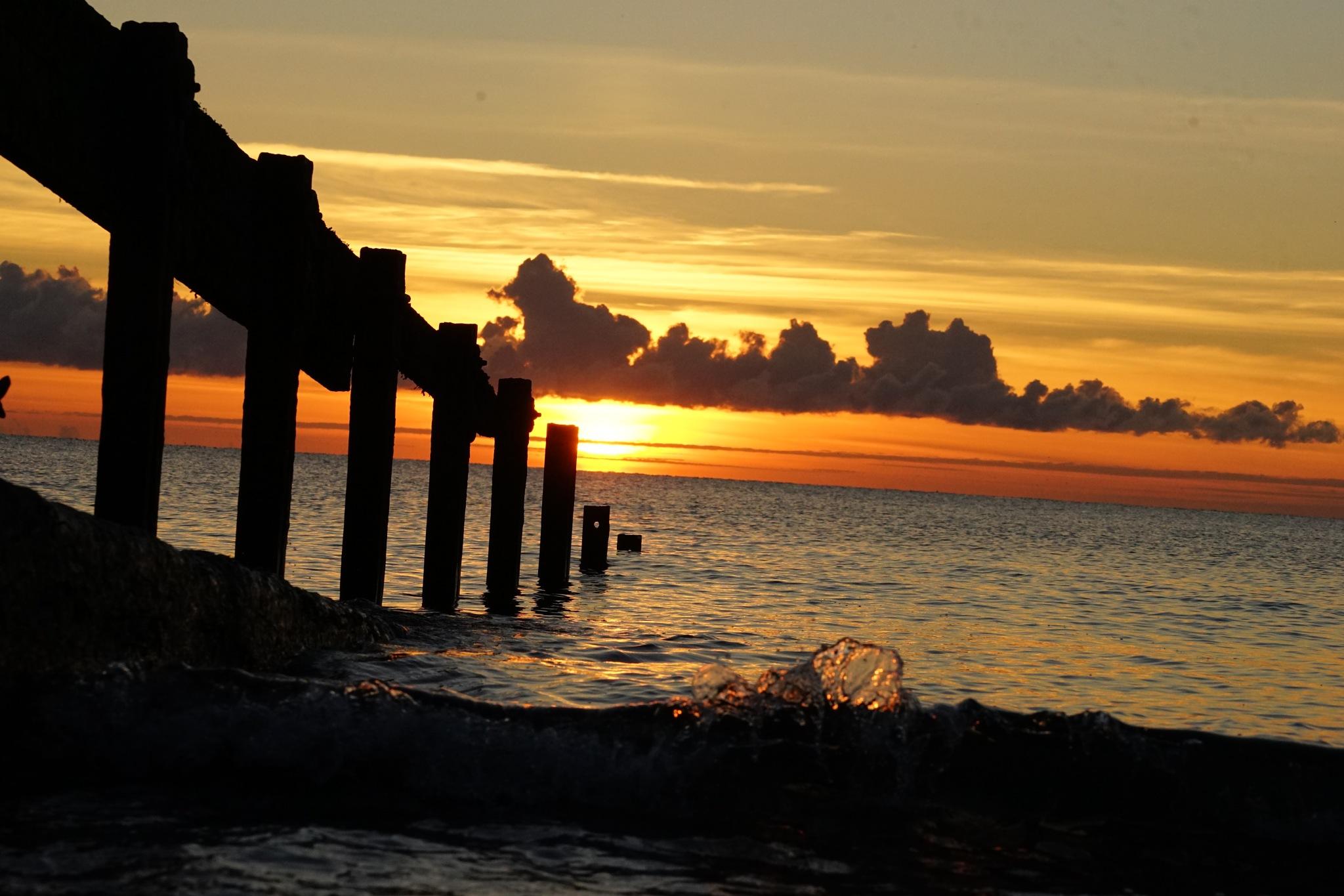 Whitehaven Sunset- 5 by Isaac Matthews