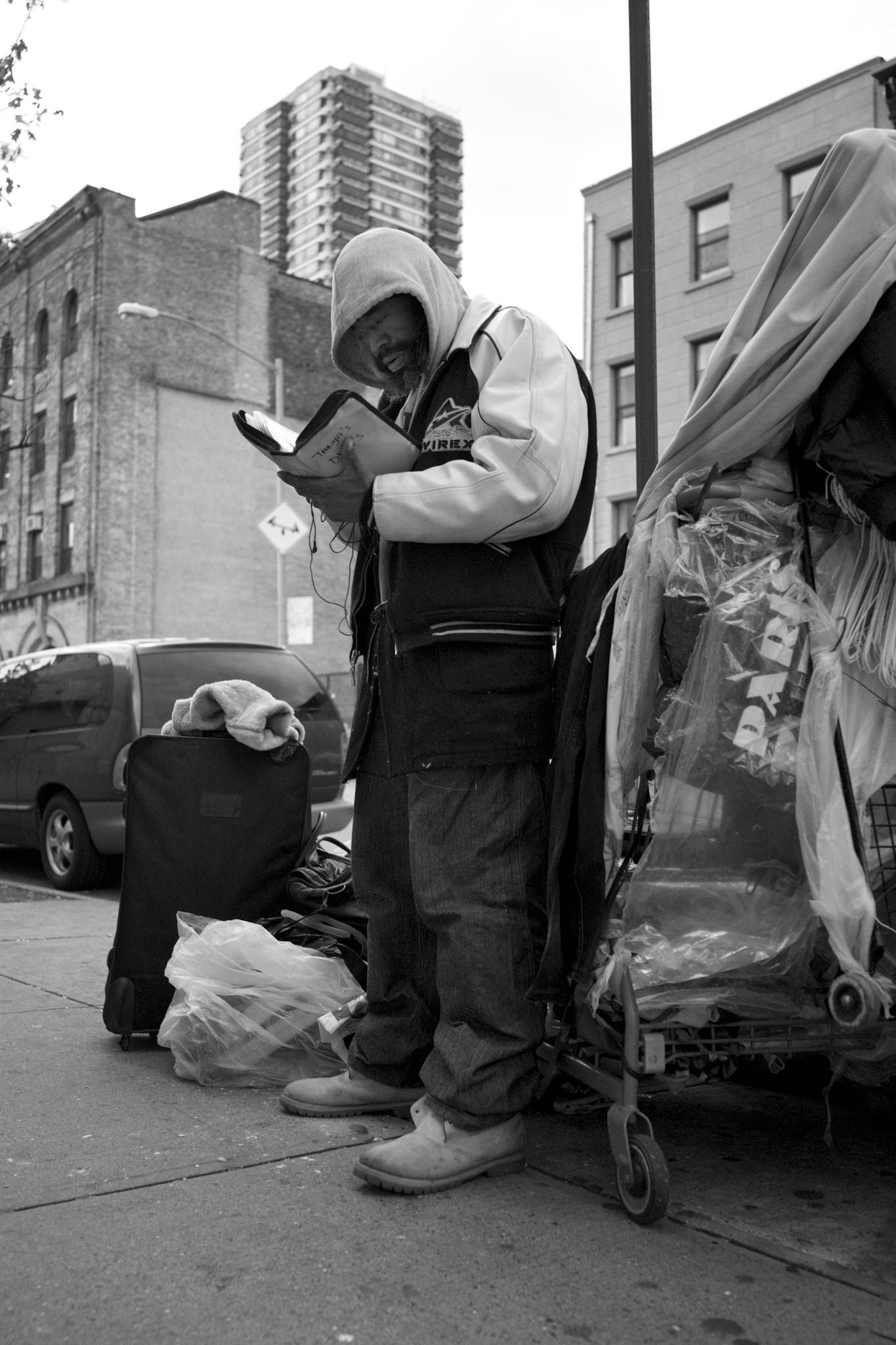 Harlem street life... by Grant Brooks