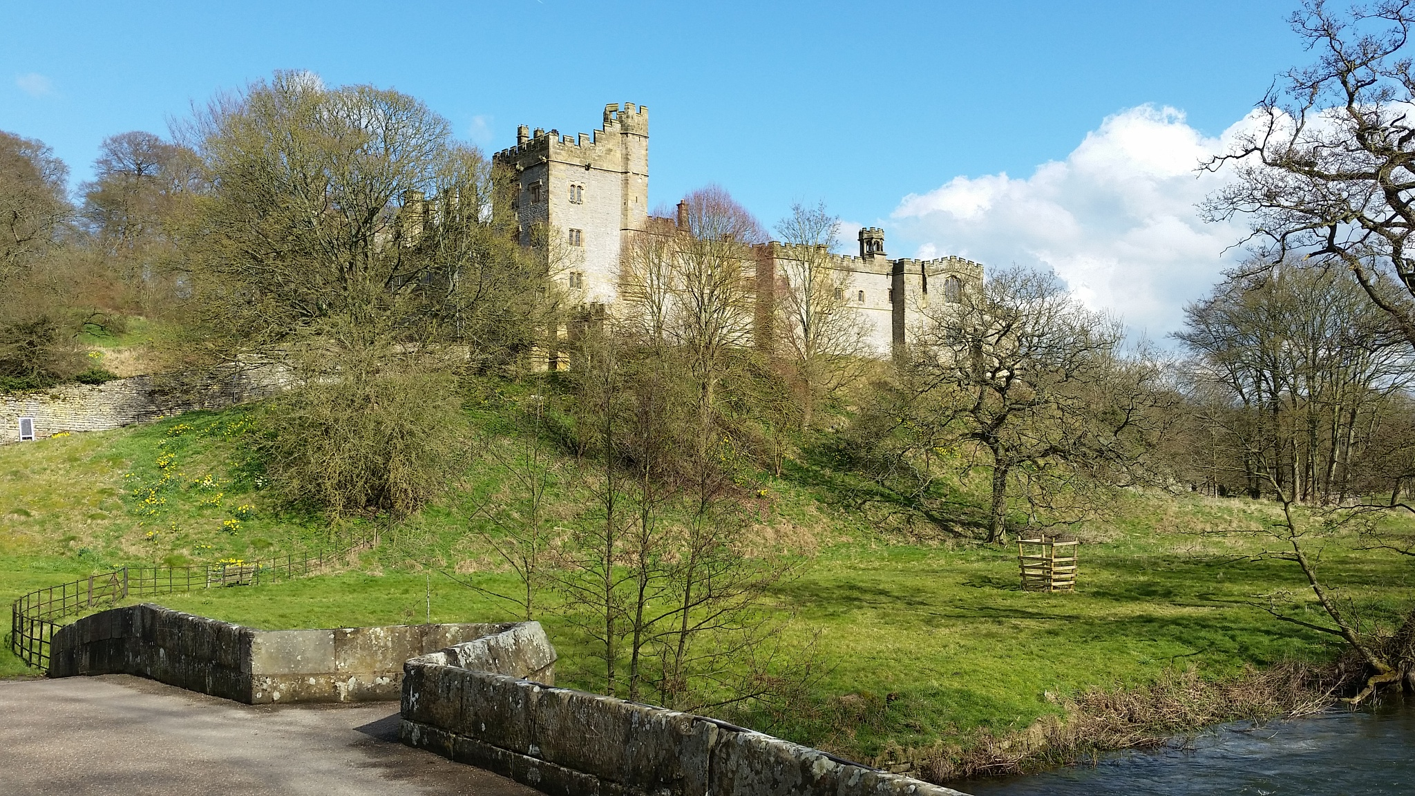 Spring at Haddon Hall by neiloswaldjones