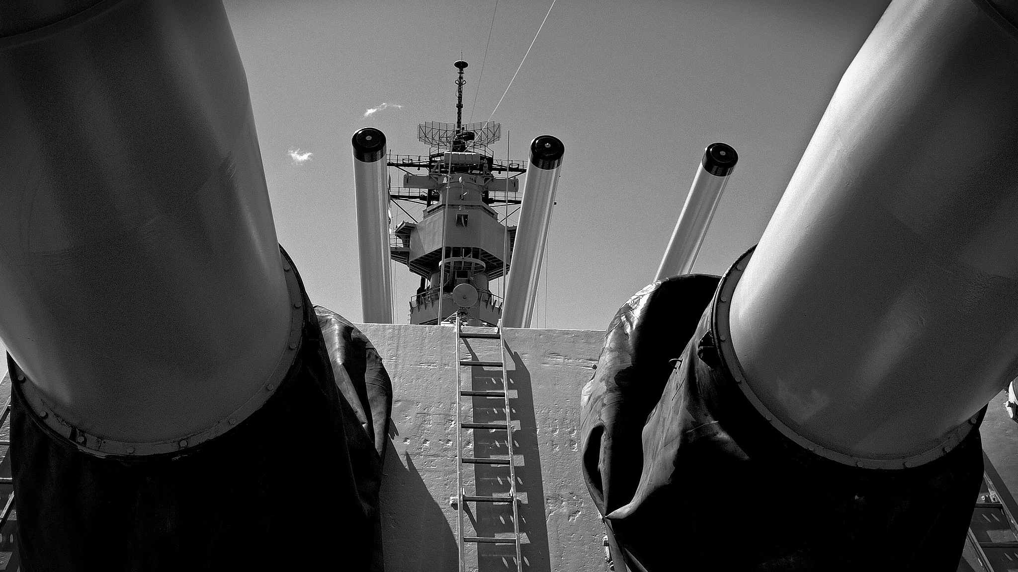 USS Missouri - Pearl Harbor by Nige Cox
