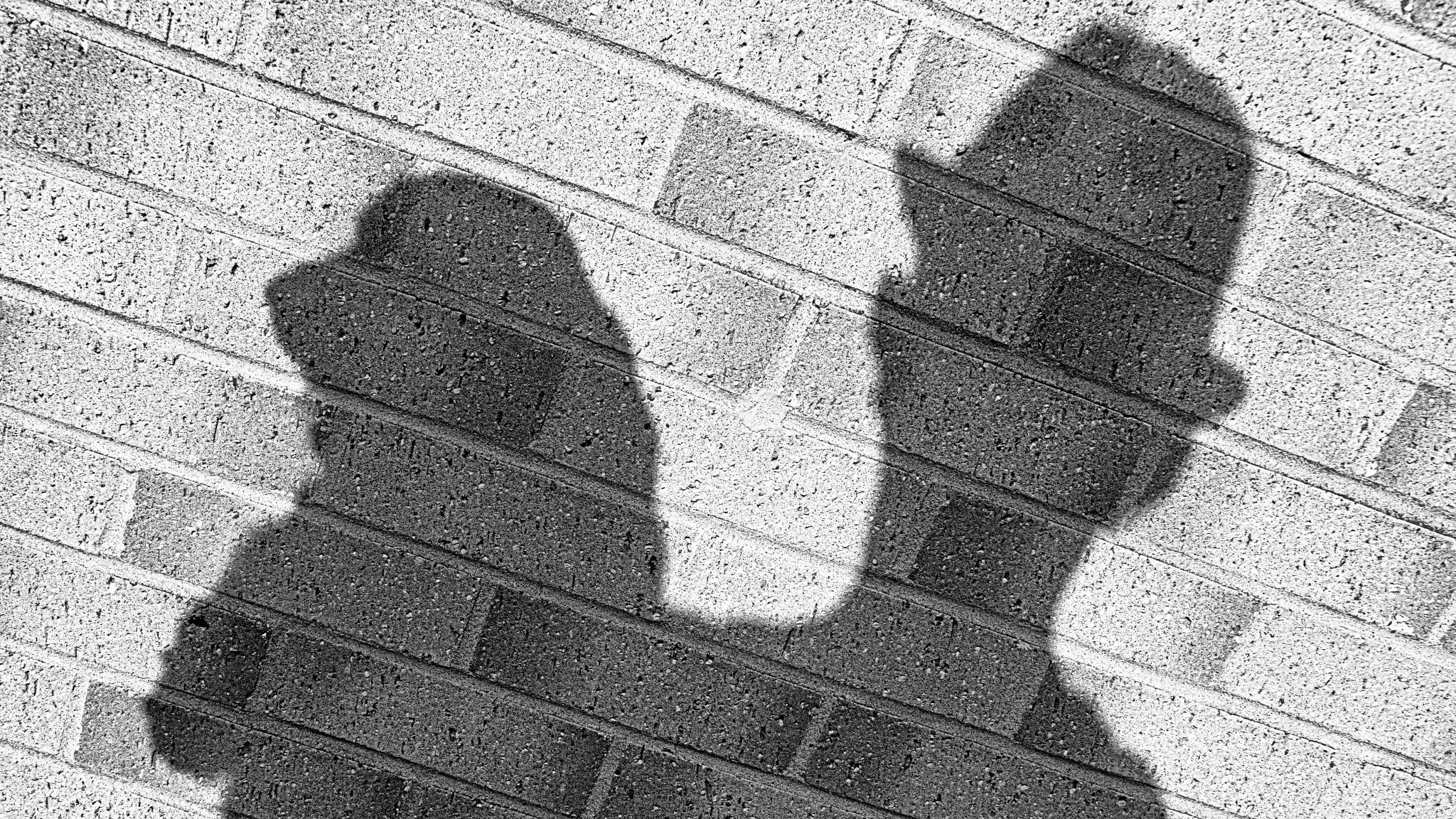 My Shadow... by Nige Cox