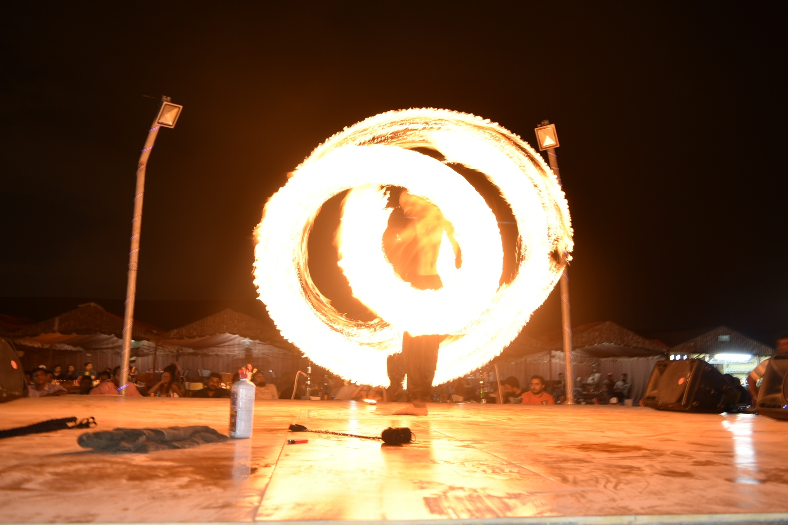 fire show by Rohit Vyas