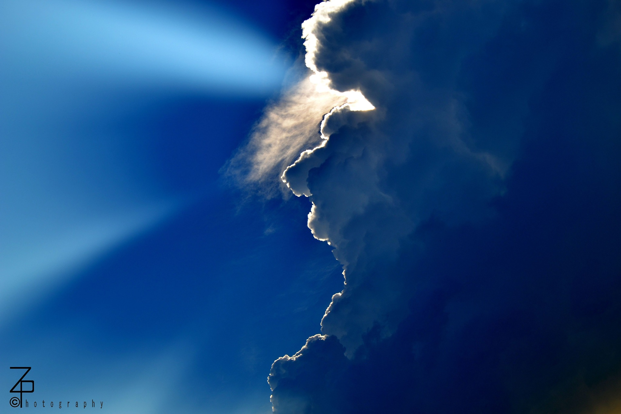 Sunrays and clouds by ZNiss