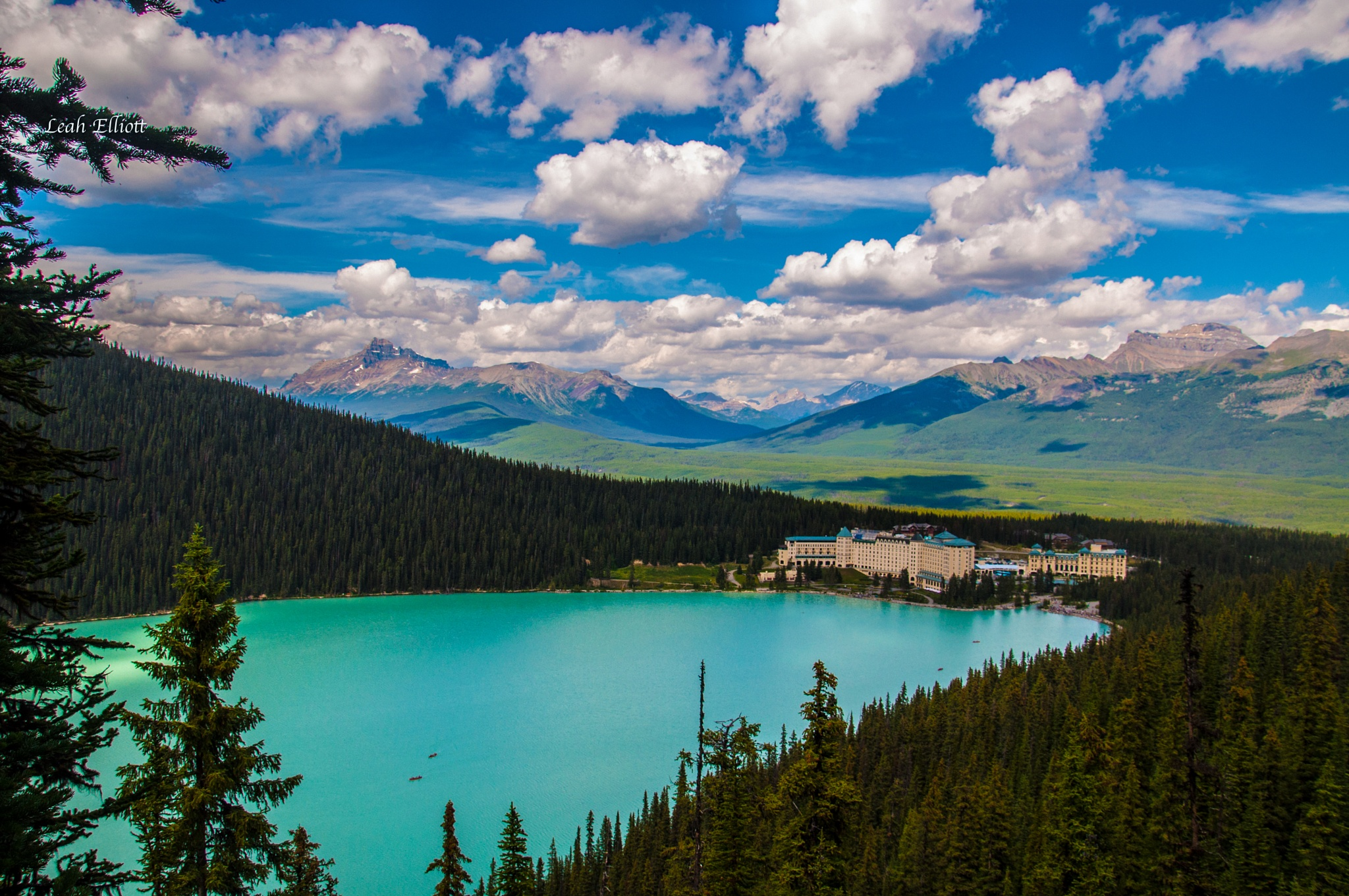 Lake Louise by Leah Taillefer