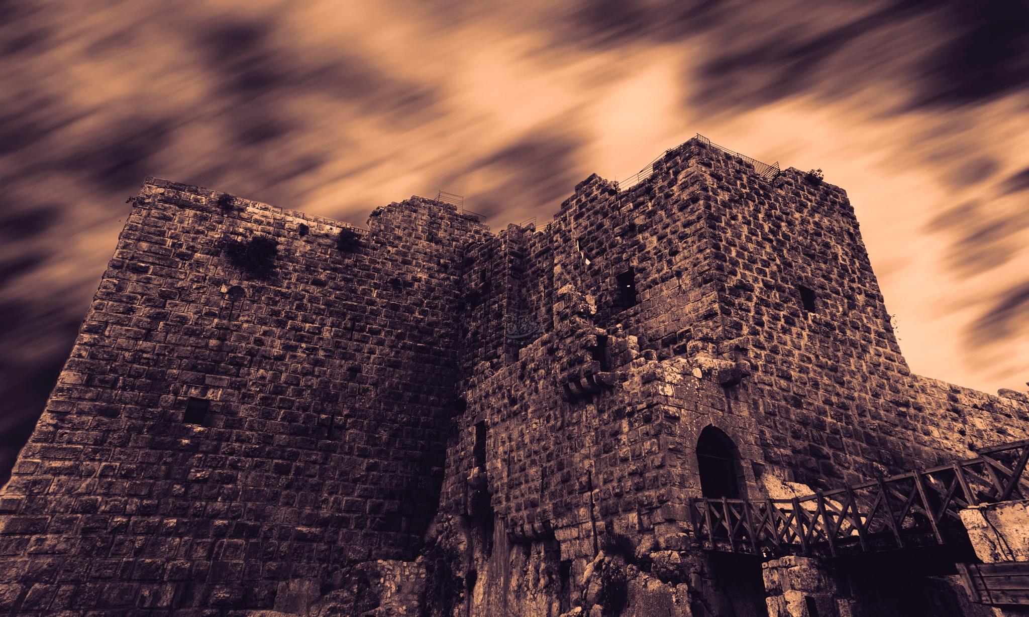 ajloon castle  by hothifaomari09