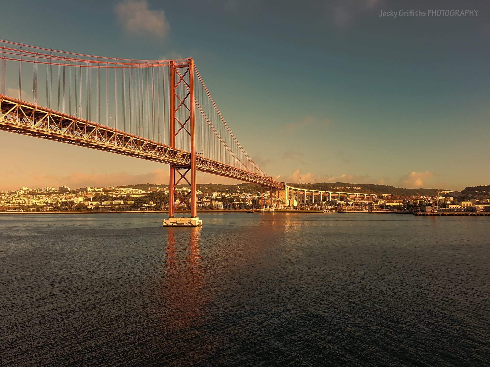 Lisbon Bridge by John Griffiths