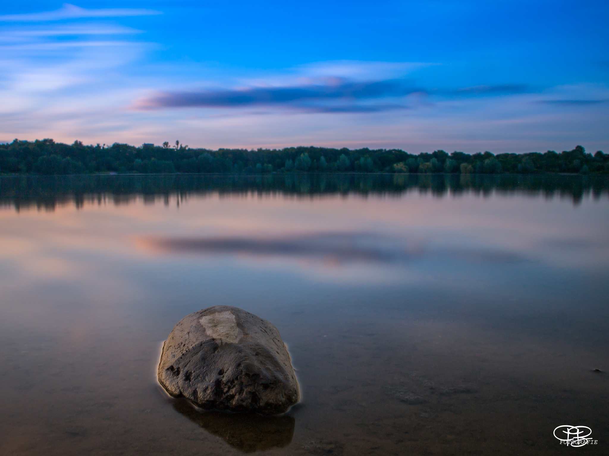The bauty of a Lake by PBFotografie
