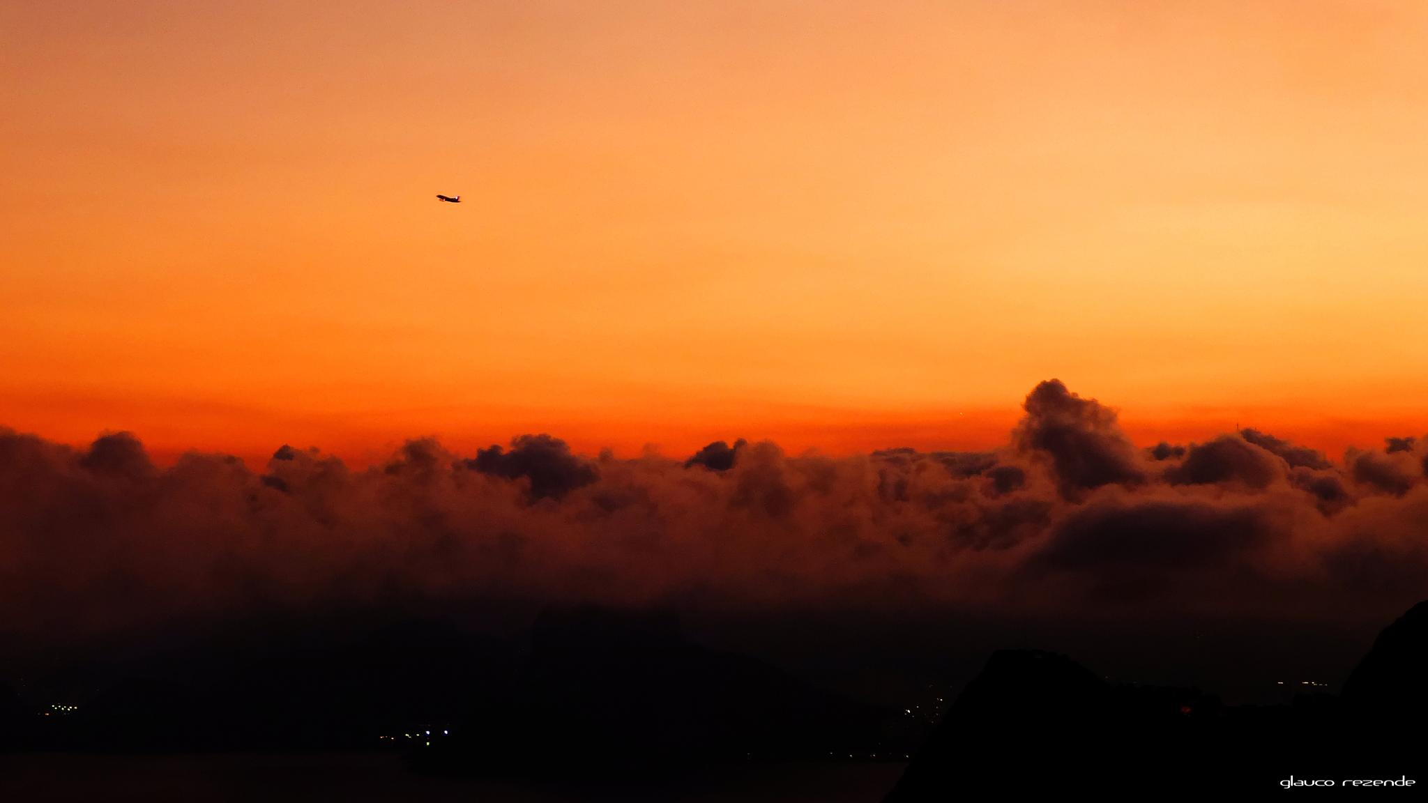 Over the clouds by Glauco Rezende