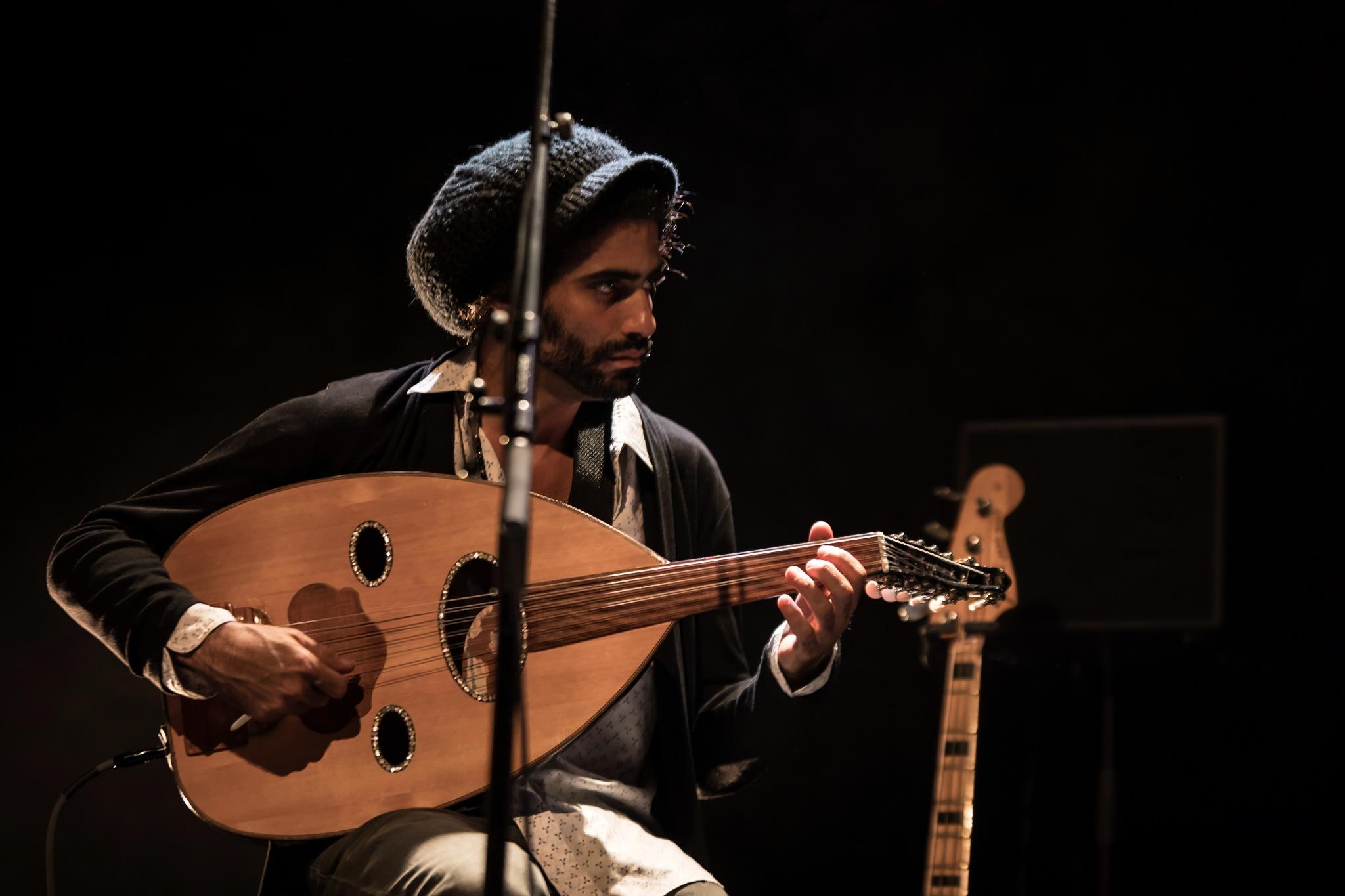 Avashai Cohen...jazz in Belgium. by GiekeMerckx