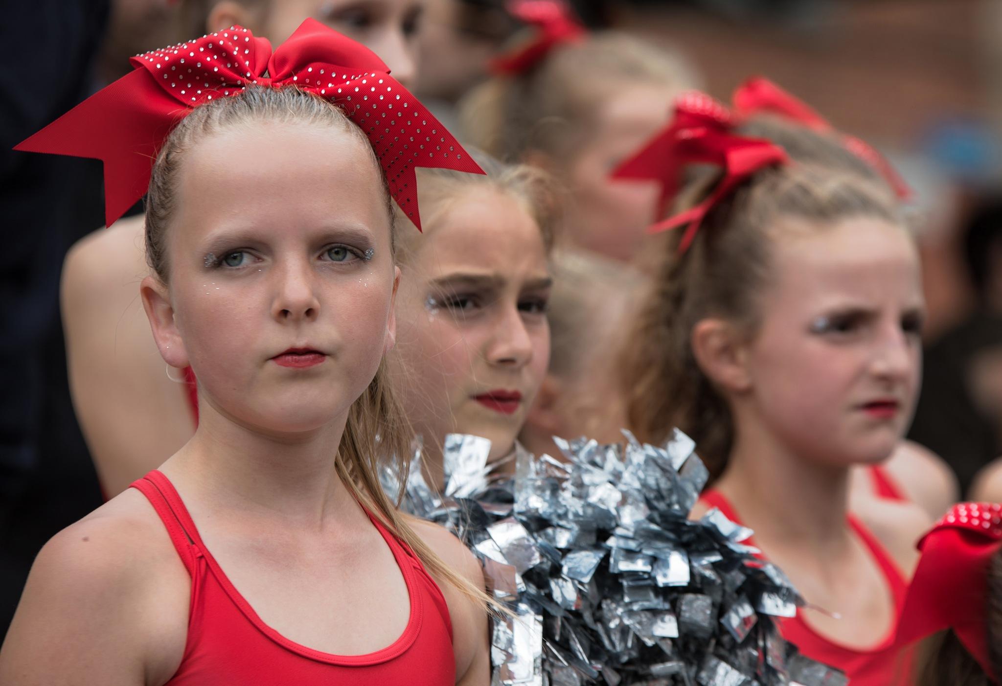 Belgian Cheerleaders .....Leuven. by GiekeMerckx