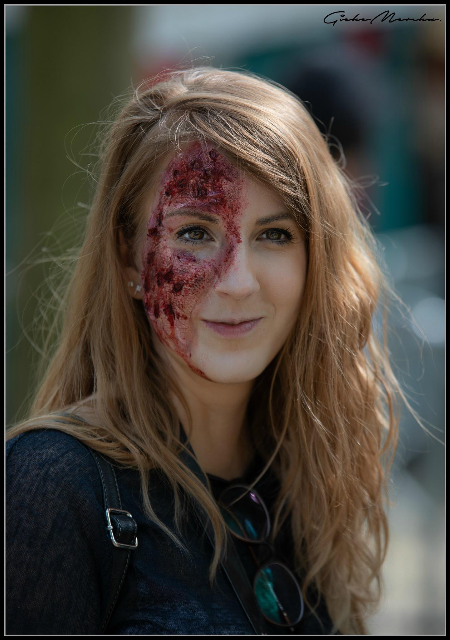 Beautiful Zombie... by GiekeMerckx