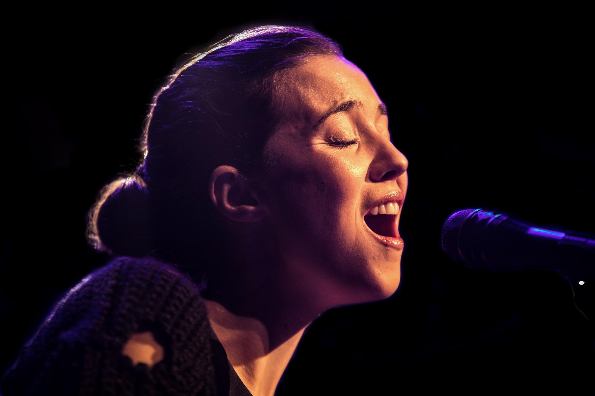 Lisa Hannigan...Amazing Irish folk singer . by GiekeMerckx