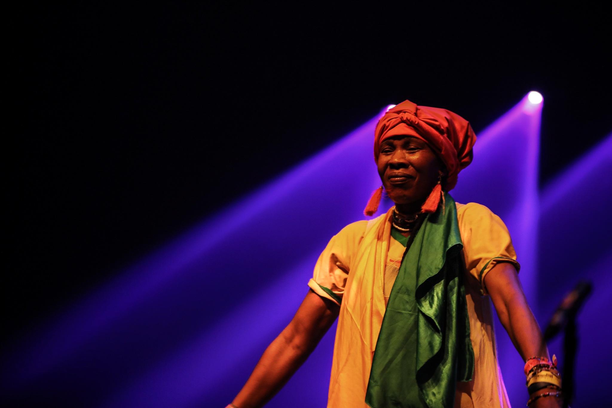 Female Singer . ( Cameroon ). by GiekeMerckx