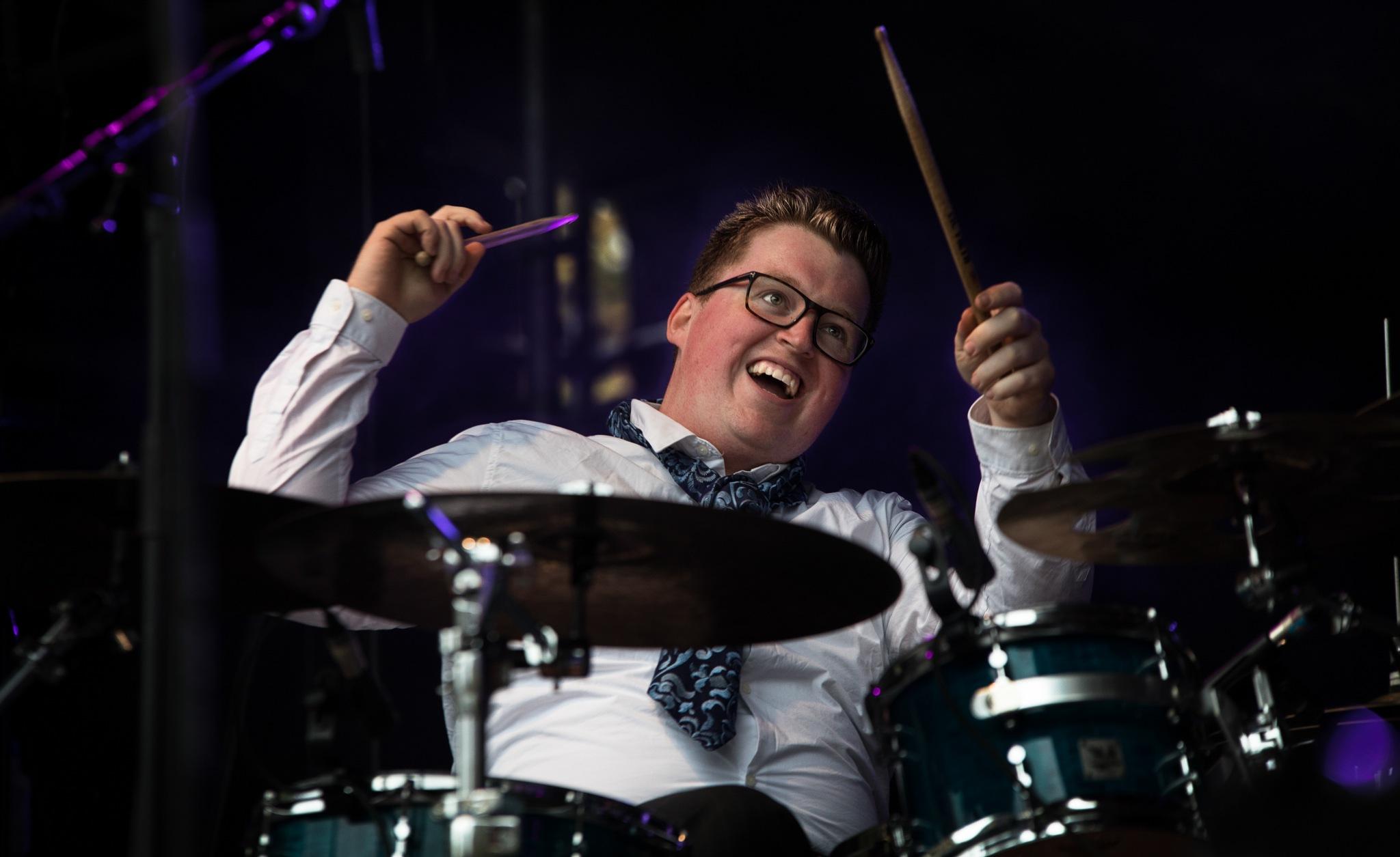 Happy Drummer ... by GiekeMerckx