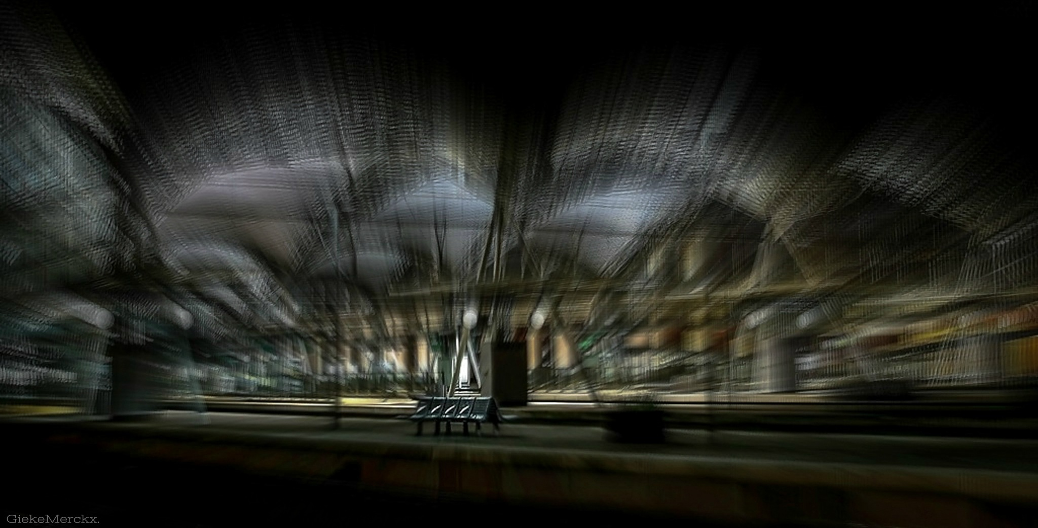 Station Leuven ( Belgium ). by GiekeMerckx