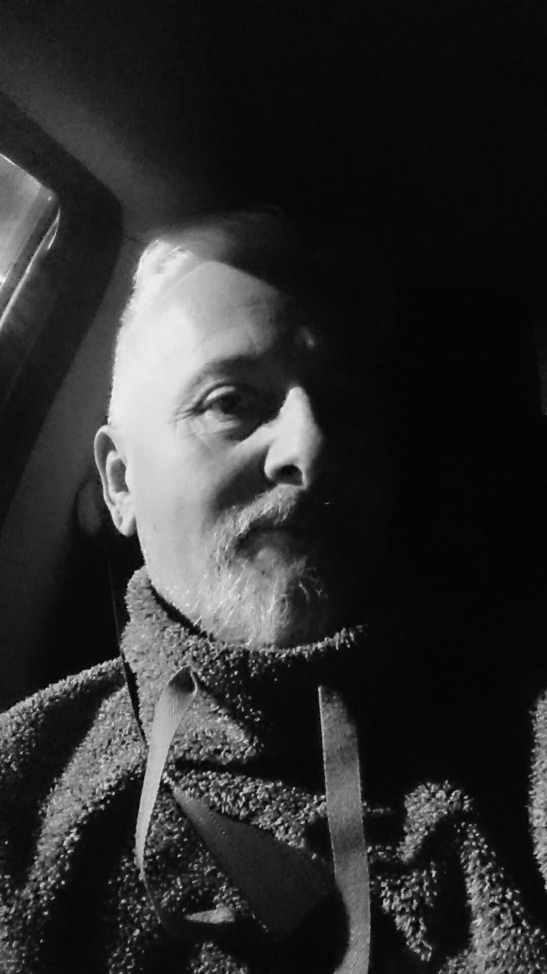 Self portrait  by Jon Brooke-Langham